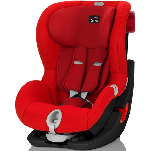 Silla Auto Römer KING II LS BLACK SERIES FLAME RED