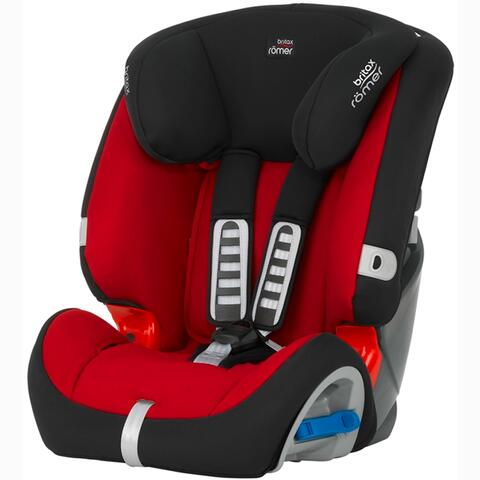 SILLA DE COCHE BRITAX MULTI-TECH II FLAME RED