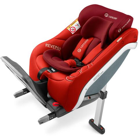 SILLA DE COCHE CONCORD REVERSO PLUS FLAMING RED