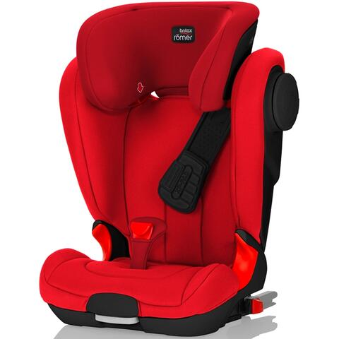 SILLA DE COCHE RÖMER KIDFIX XP II SICT BLACK SERIES FLAME RED