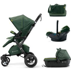COCHE BEBE CONCORD NEO TRAVEL SET JUNGLE GREEN