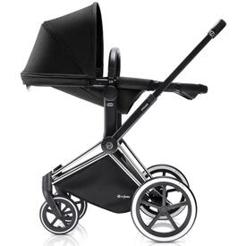 COCHE BEBE PRIAM CAPAZO Y SILLA 2en1 HAPPY BLACK