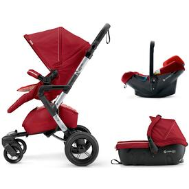 COCHE DE BEBE CONCORD NEO TRAVEL SET TOMATO RED