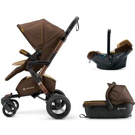 COCHE DE BEBE CONCORD NEO TRAVEL SET WALNUT BROWN