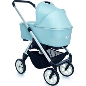 Cochecito de paseo Easy Walker New Mini Stroller Ice Blue chais silver rueda blanca
