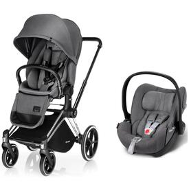 CYBEX PRIAM SILLA PASEO Y CLOUD Q manhattan grey
