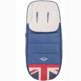 SACO INVIERNO MINI BUGGY FOOTMUFF UNION JACK VINTAGE