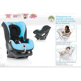 Silla Auto BRITAX  First class Flame Red