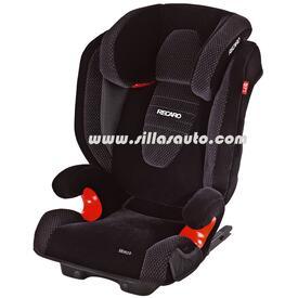 Silla Auto Monza Isofix Col Black Aquavit