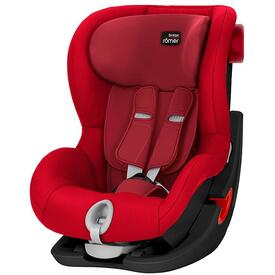 SILLA DE COCHE BRITAX RÖMER KING II BS Flame Red