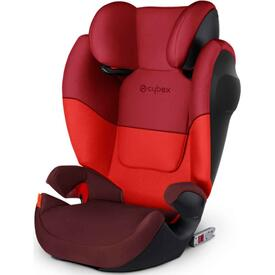 SILLA DE COCHE CYBEX SOLUTION M FIX SL Rumba Red