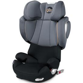 SILLA DE COCHE CYBEX SOLUTION Q3 FIX GRAPHITE BLACK