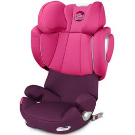 SILLA DE COCHE CYBEX SOLUTION Q3 FIX MYSTIC PINK