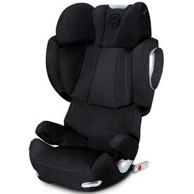 SILLA DE COCHE CYBEX SOLUTION Q3 FIX PLUS STARDUST BLACK
