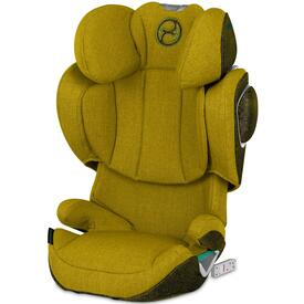 SILLA DE COCHE CYBEX SOLUTION Z I-FIX PLUS Mustard Yellow