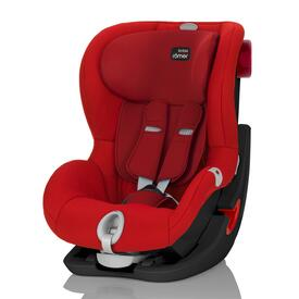 SILLA DE COCHE RÖMER KING II LS BLACK SERIES FLAME RED
