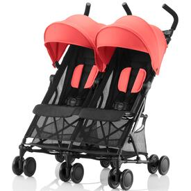SILLA DE PASEO BRITAX HOLIDAY DOUBLE Coral Peach