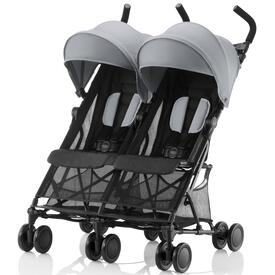 SILLA DE PASEO BRITAX HOLIDAY DOUBLE Steel Grey