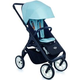 Silla paseo Easy WalkerNew Mini Stroller Ice Blue Chasis Negro rueda Blanca