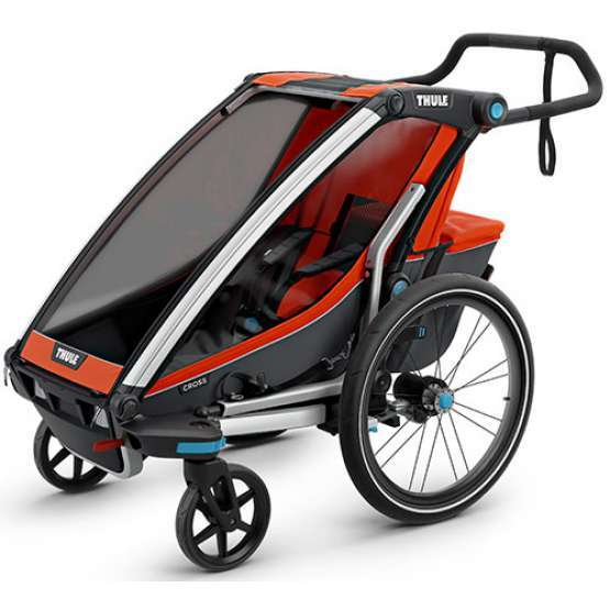 THULE CHARIOT SPORT DOUBLE Chartreuse