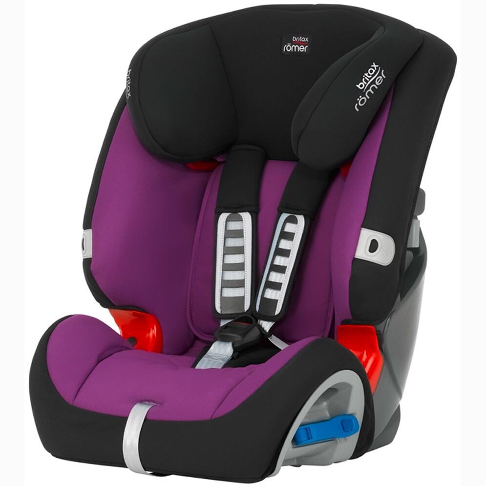Silla De Coche Britax Multi Tech Ii Mineral Purple