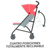 silla paseo reclinable total